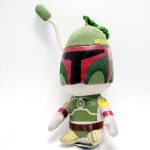 Star Wars Boba Fett 6 inch plush keychain toy figure